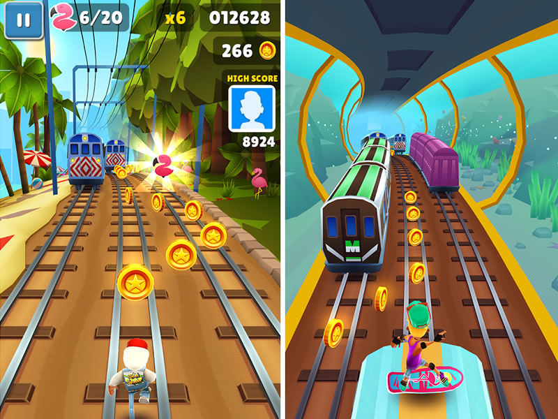 Subway Surfer screenshot